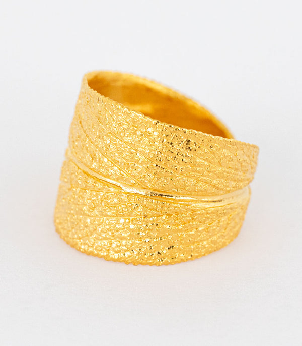 Ring Gold Salbei Gr. 64
