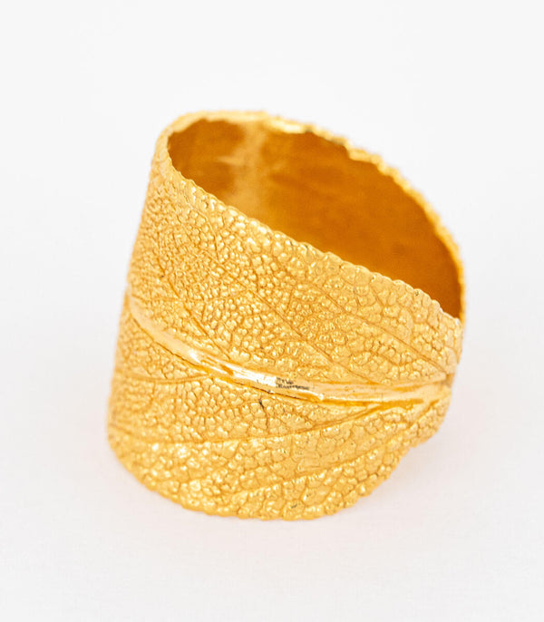 Ring Gold Salbei Gr. 56