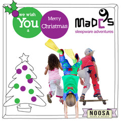 MADC'S kids pyjamas as Christmas presents