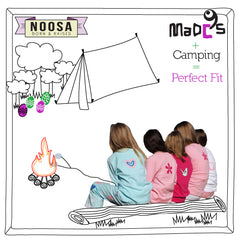 MADC'S kids pyjamas made for camping