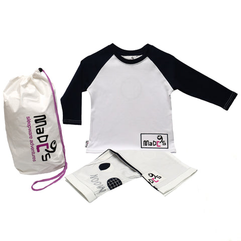 Full Moon Boys pyjama SET from MADC'S - long sleeve