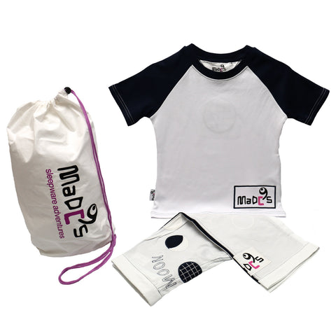 Full Moon Boys pyjama SET from MADC'S - tshirt