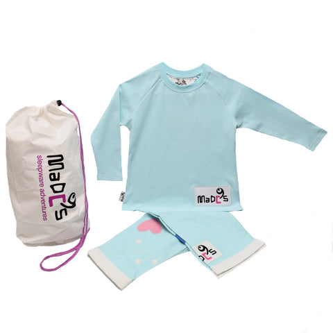 Cutie girls pyjama SET from MADC'S - long sleeve