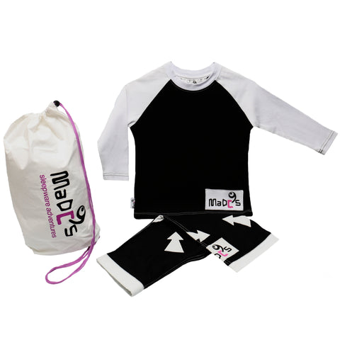 Jailbird boys pyjama SET from MADC'S - long sleeve