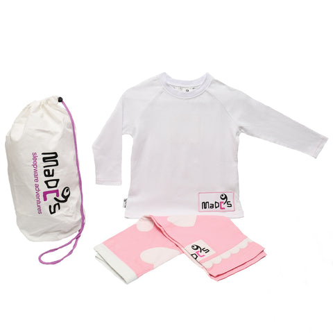 Love girls pyjama SET from MADC'S - long sleeve