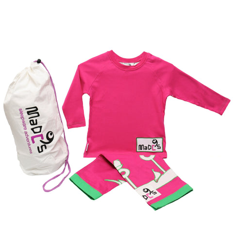 Nightingale girls pyjama SET from MADC'S - long sleeve