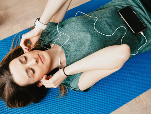 Music during yoga practice