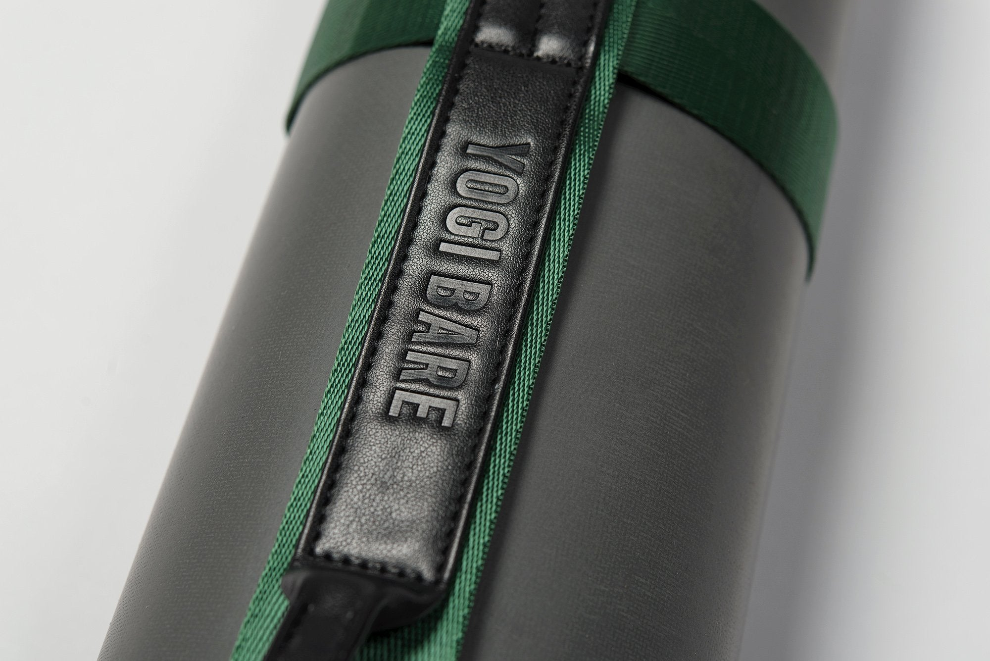 Yoga mat carrying strap forest green