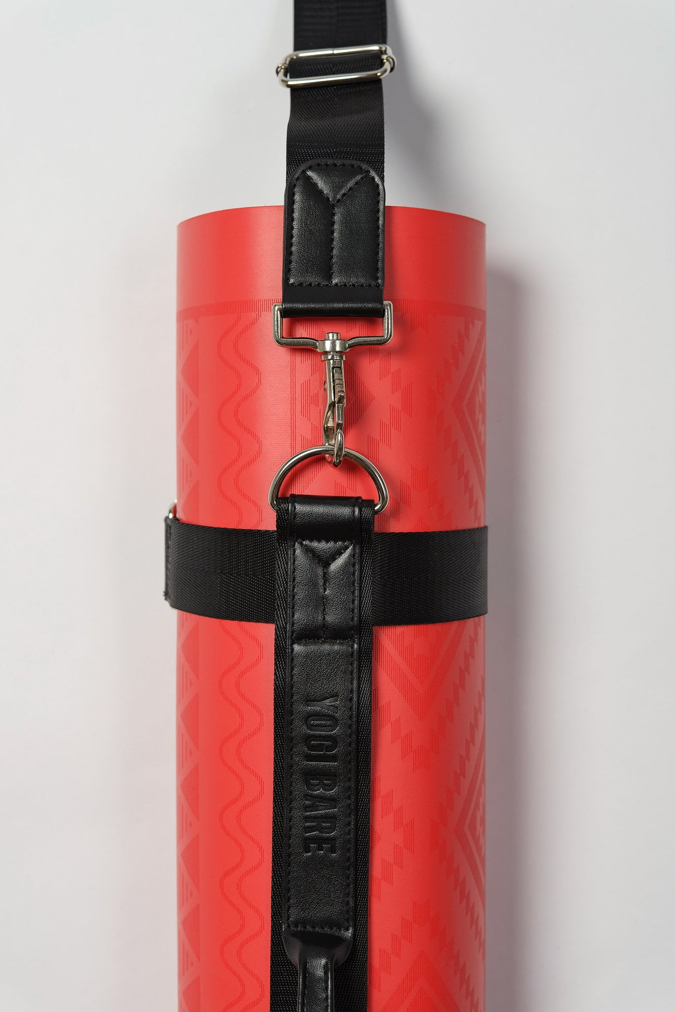 Yoga mat carrying strap black