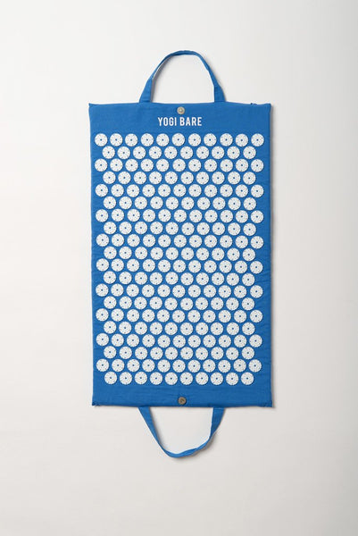 Yogi Bare® Acupressure Mat Blue – Bed of Nails for Massage and Relaxation