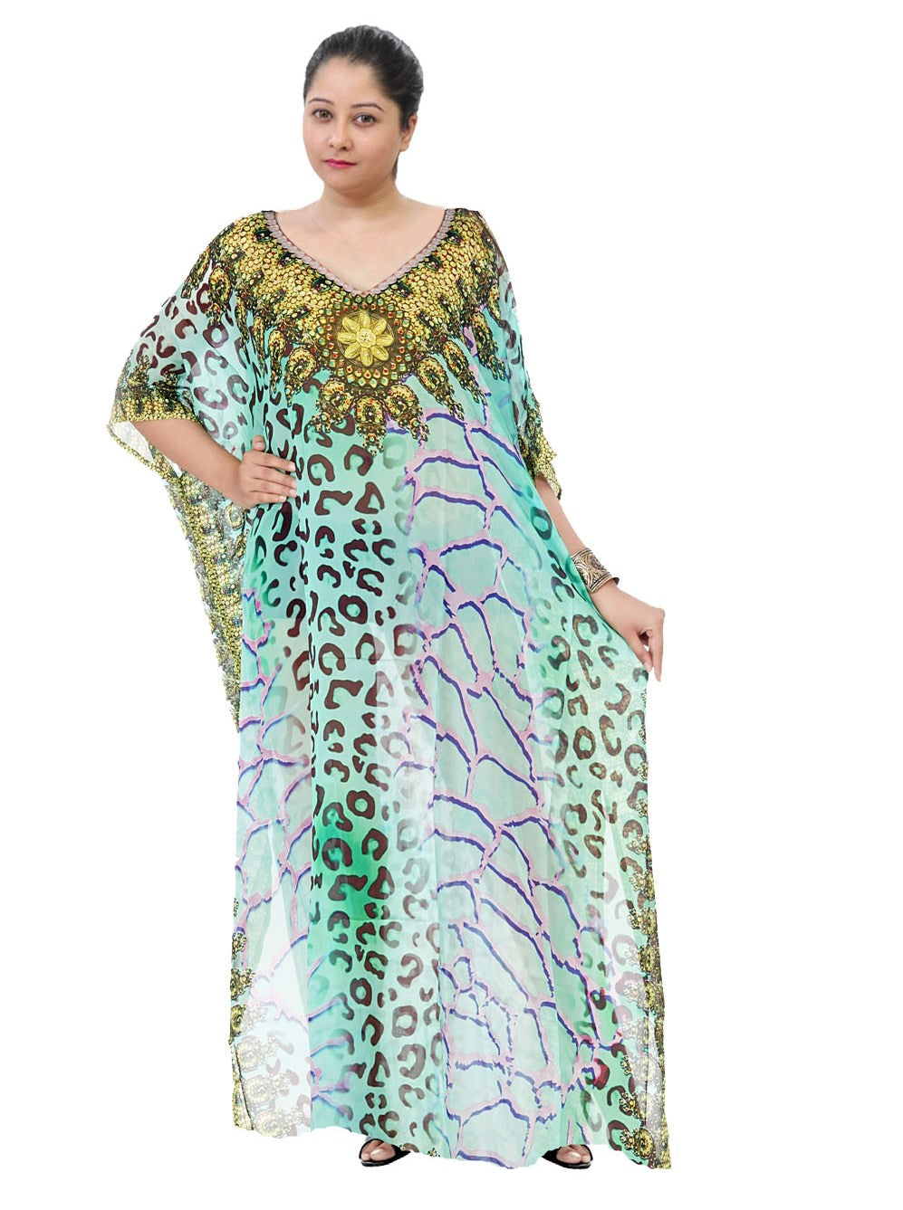 long sleeve kaftan