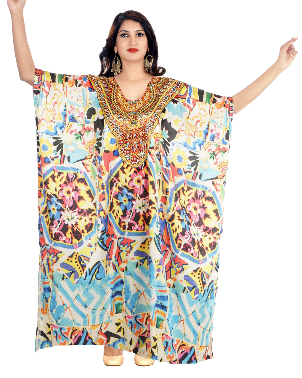 full length kaftan dress