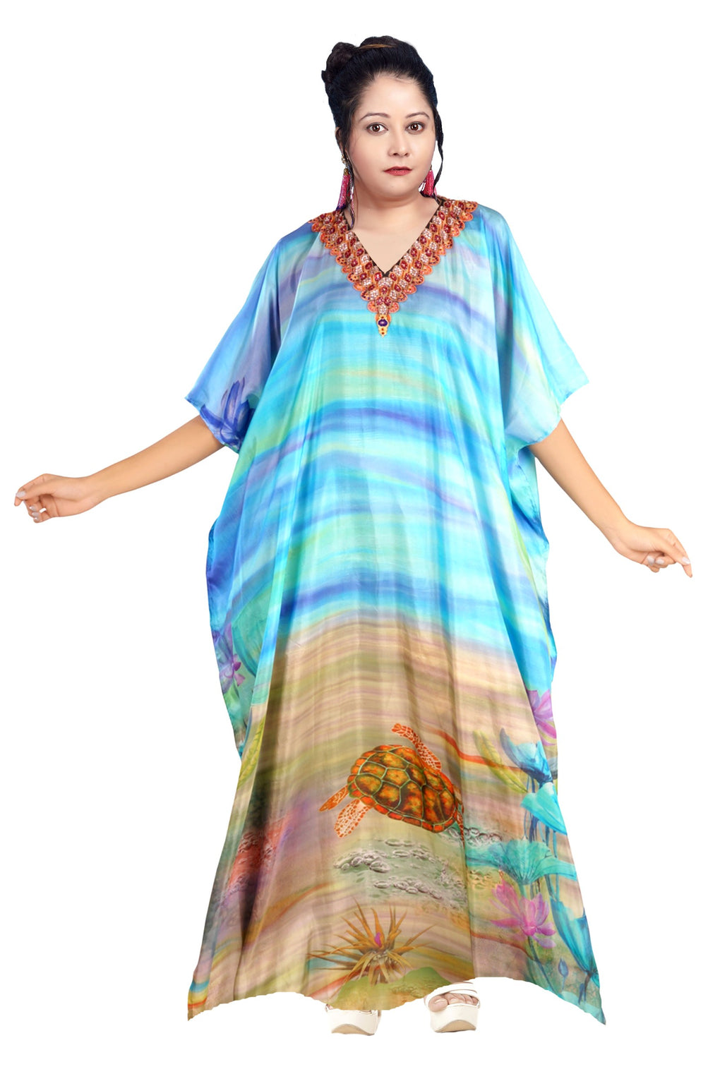 kaftan gown for ladies