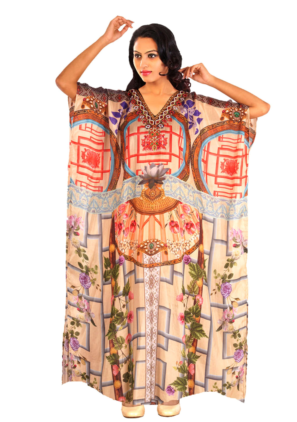 Arab kaftan dress