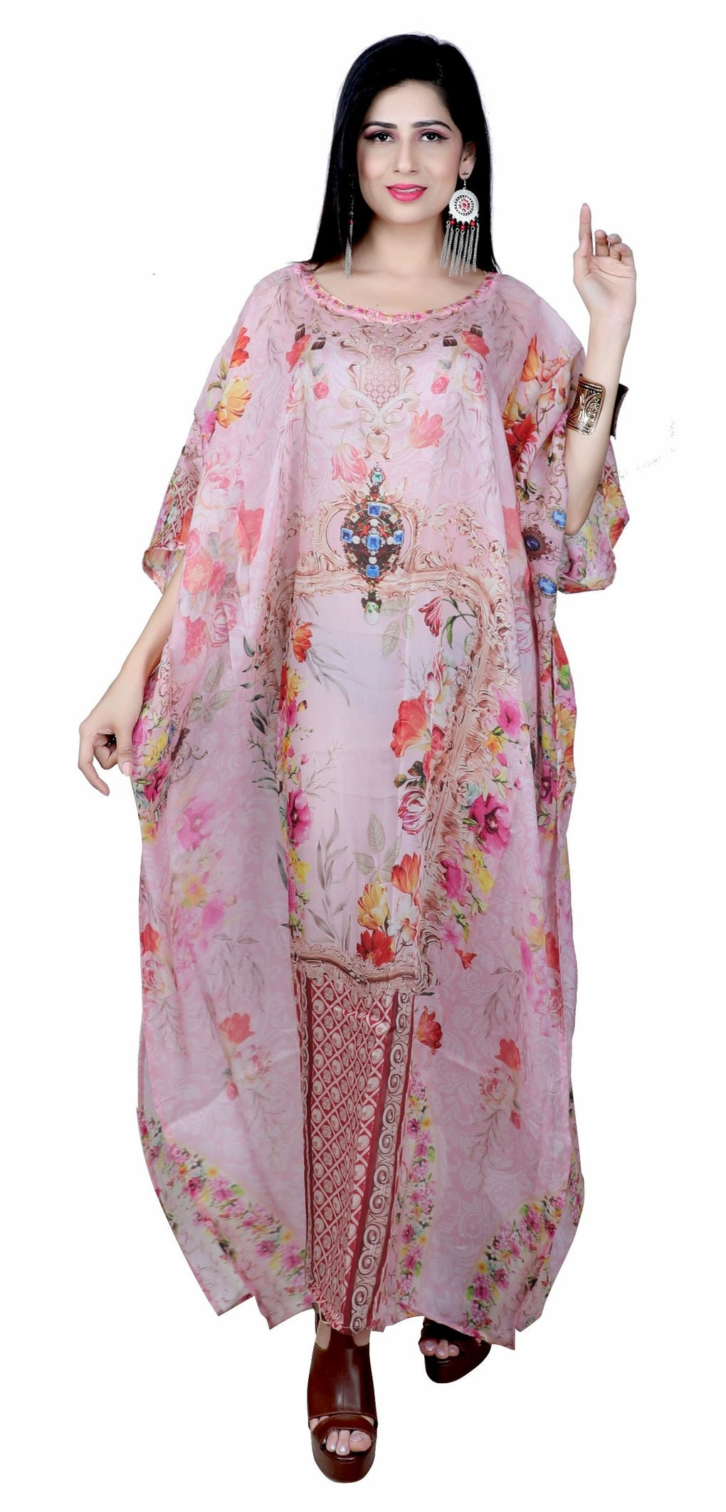high fashion kaftan