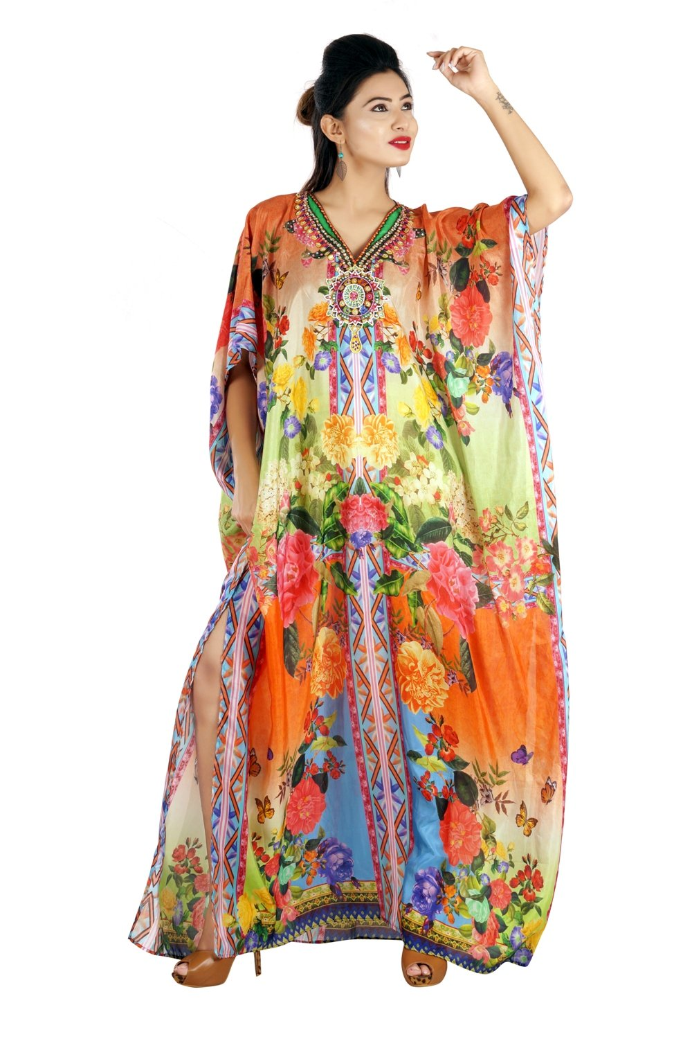 traditional moroccan kaftan