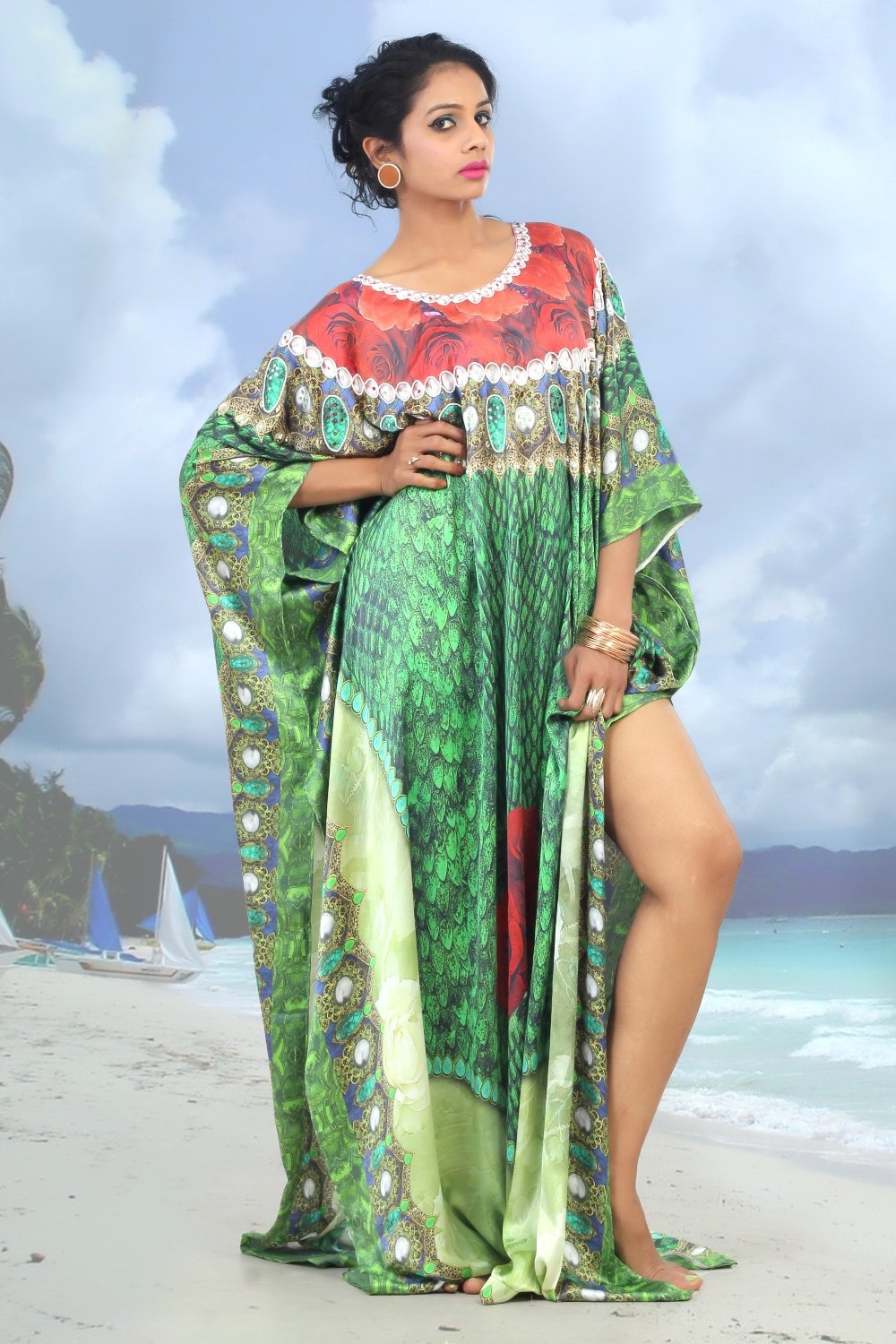 egyptian kaftan dress