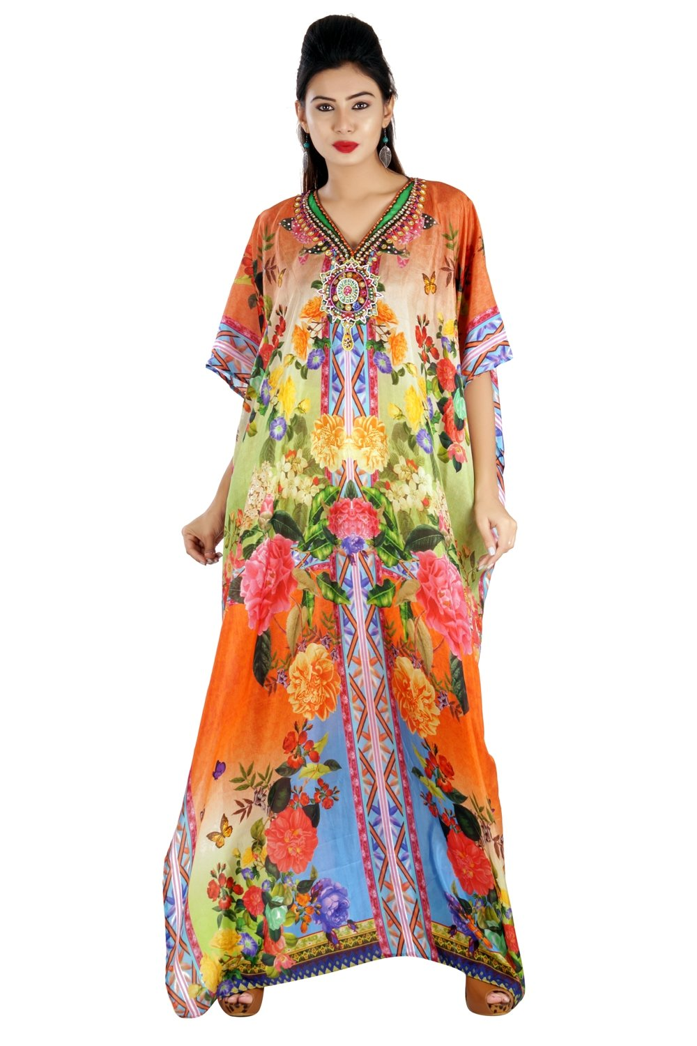 swim kaftan cover up