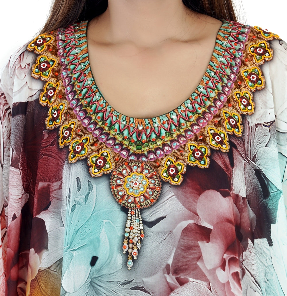 embellished kaftans wholesale