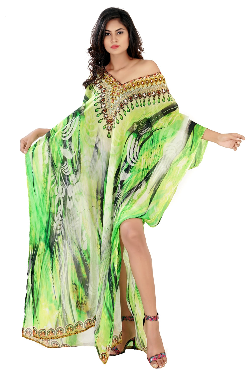 girls beach kaftan