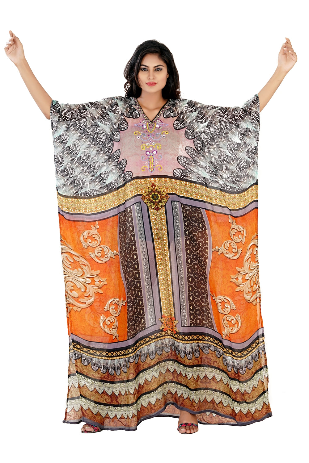 amazon kaftans plus size