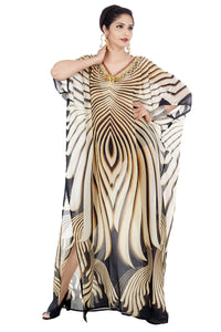 Silk kaftan online one piece dress on sale/jeweled/hand made/formal/ caftan beach cover up hot look luxuries Resort yacht party kaftan 73