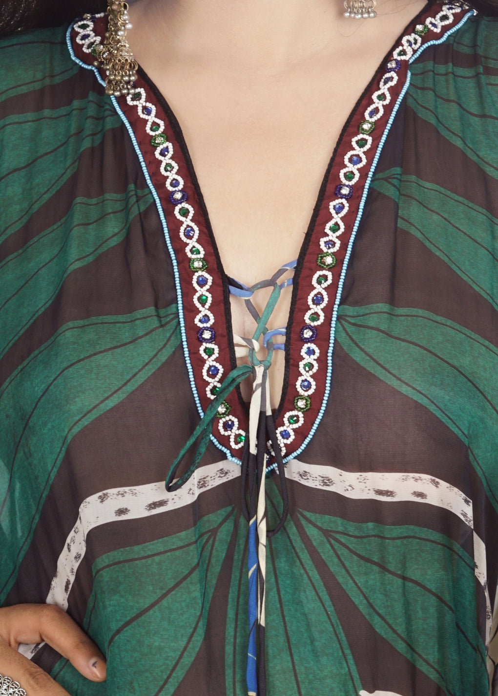 silk islands kaftans