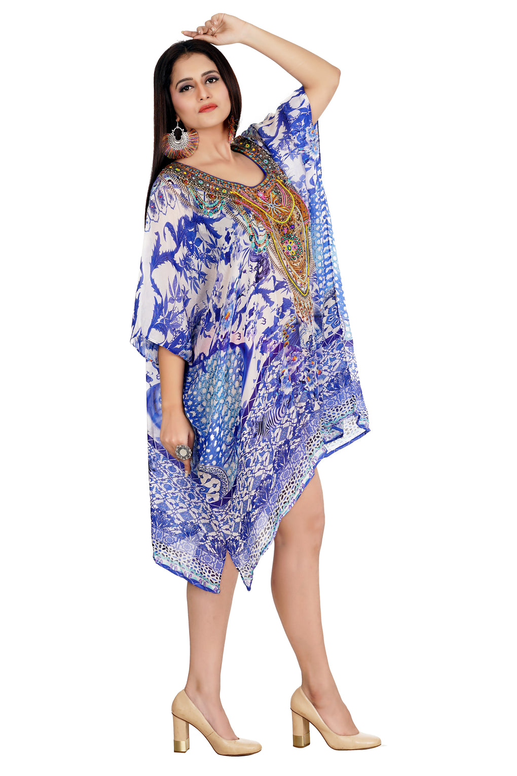 kaftan evening gown