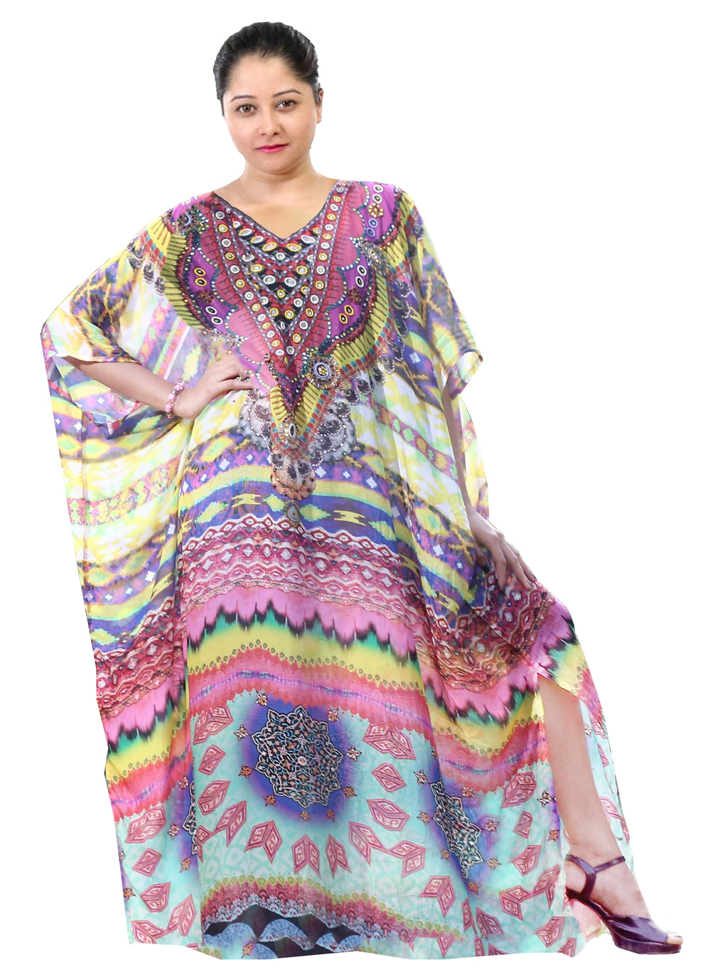 Party dresses kaftan Kaftan clothing Beautiful kaftan Designer kaftan Kaftan gown online Hand made kaftanEvening kaftan - Silk kaftan