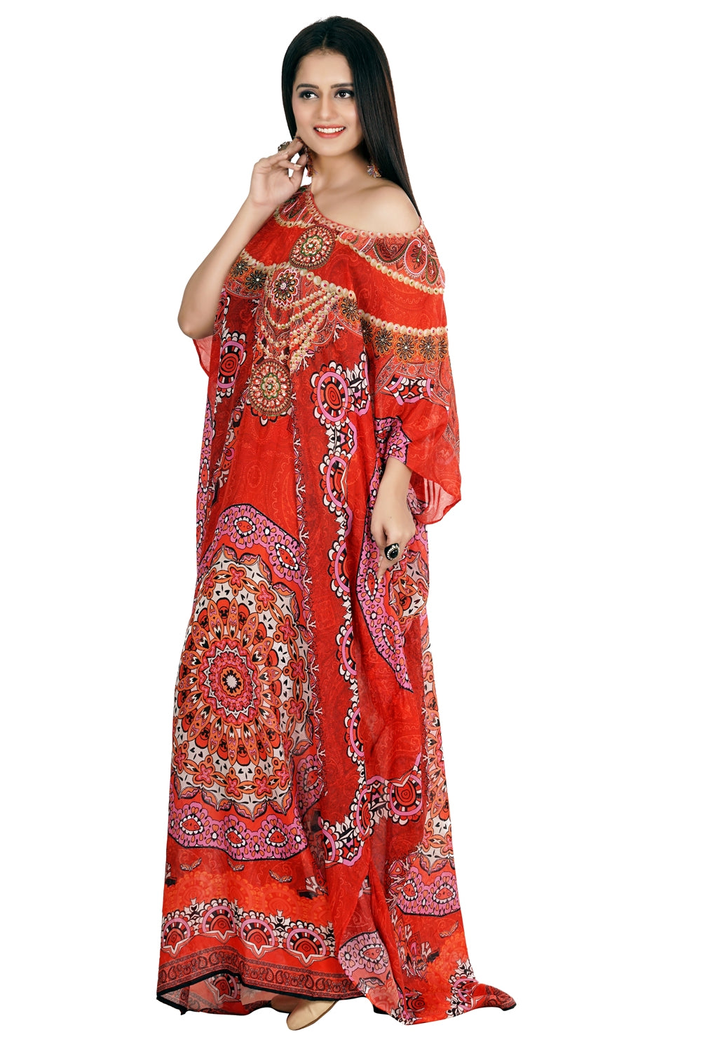 kaftan dress long