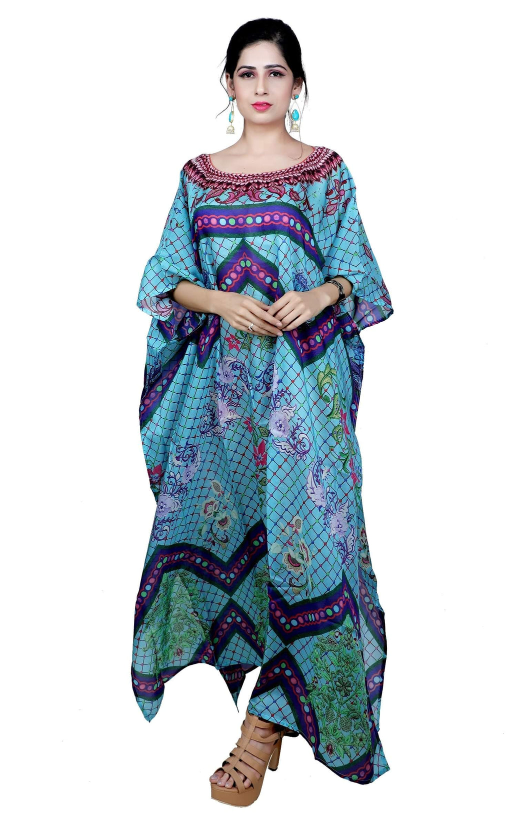 casual kaftan dress
