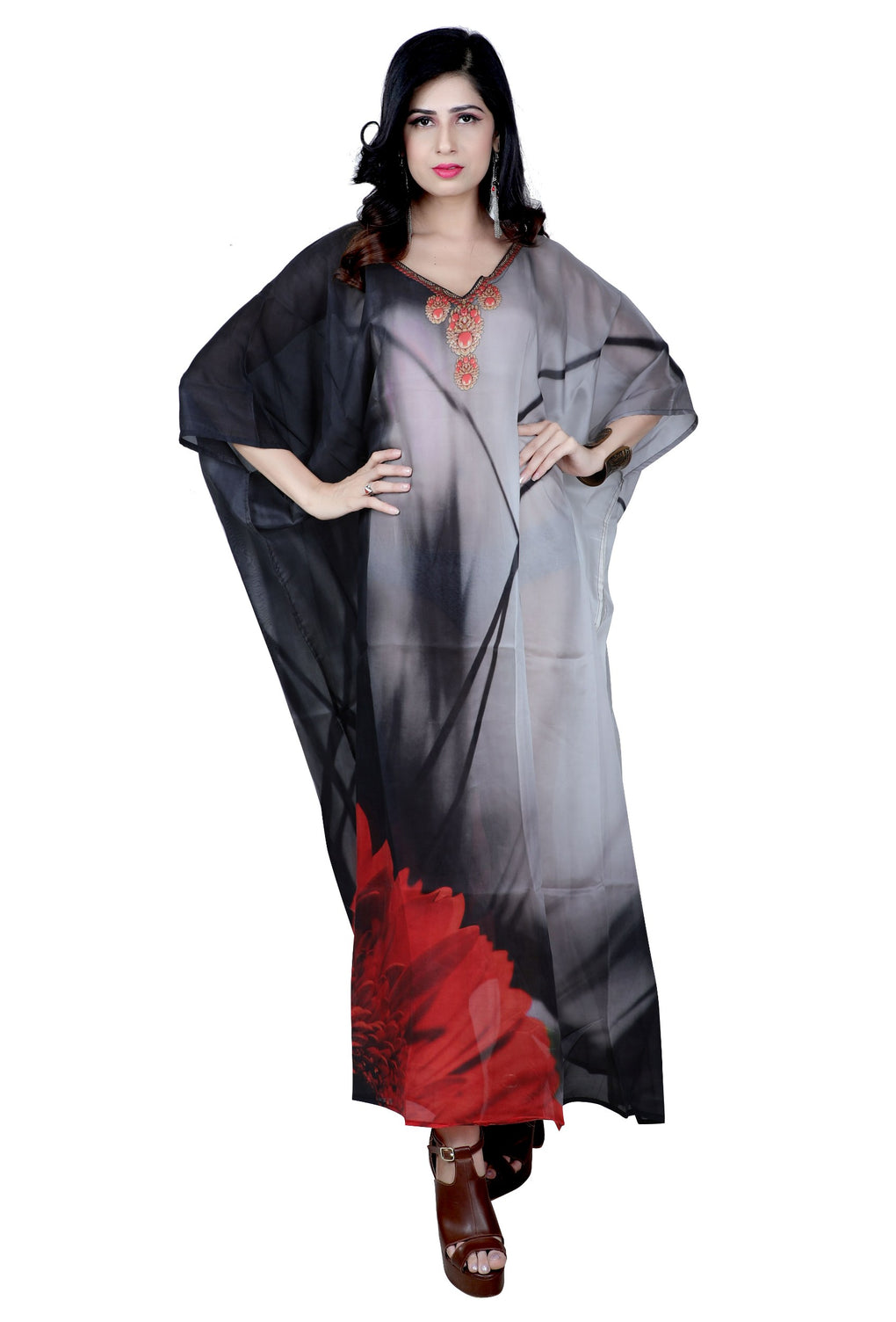 long dress kaftan