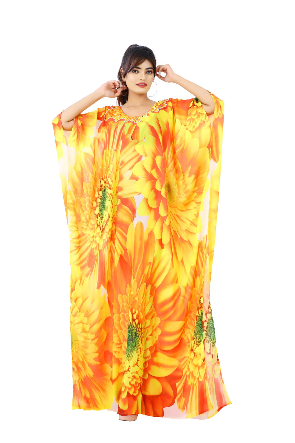 kaftan long size