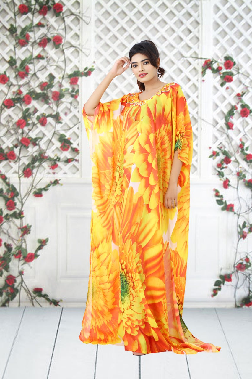 beach kaftan plus size