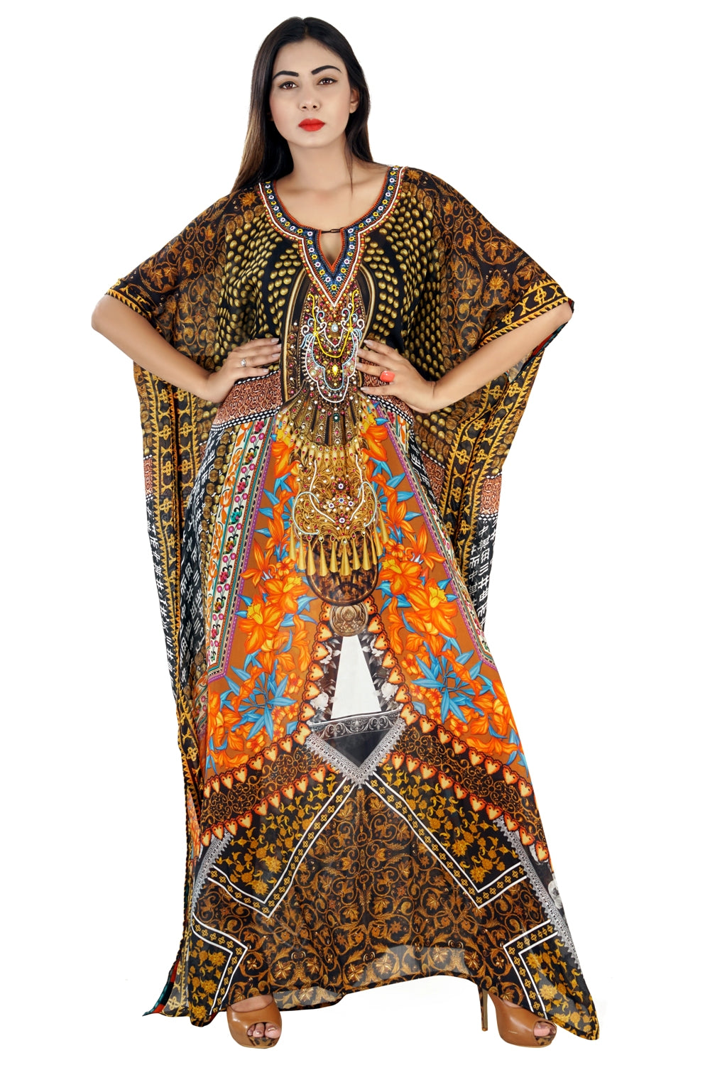 womens kaftan tops