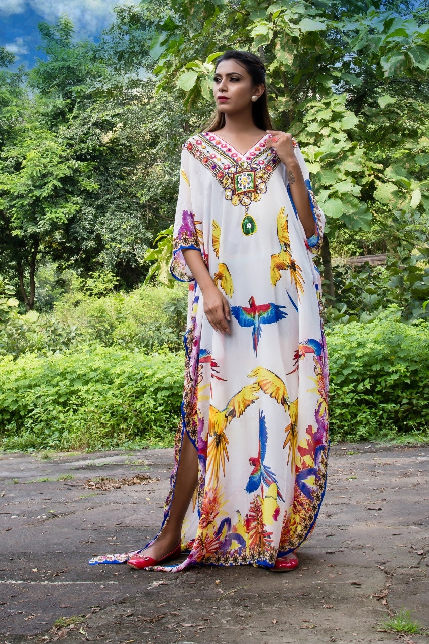 latest kaftan gown