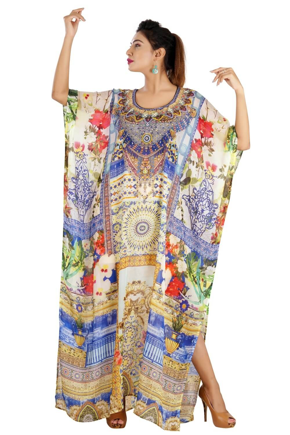 formal kaftan dress