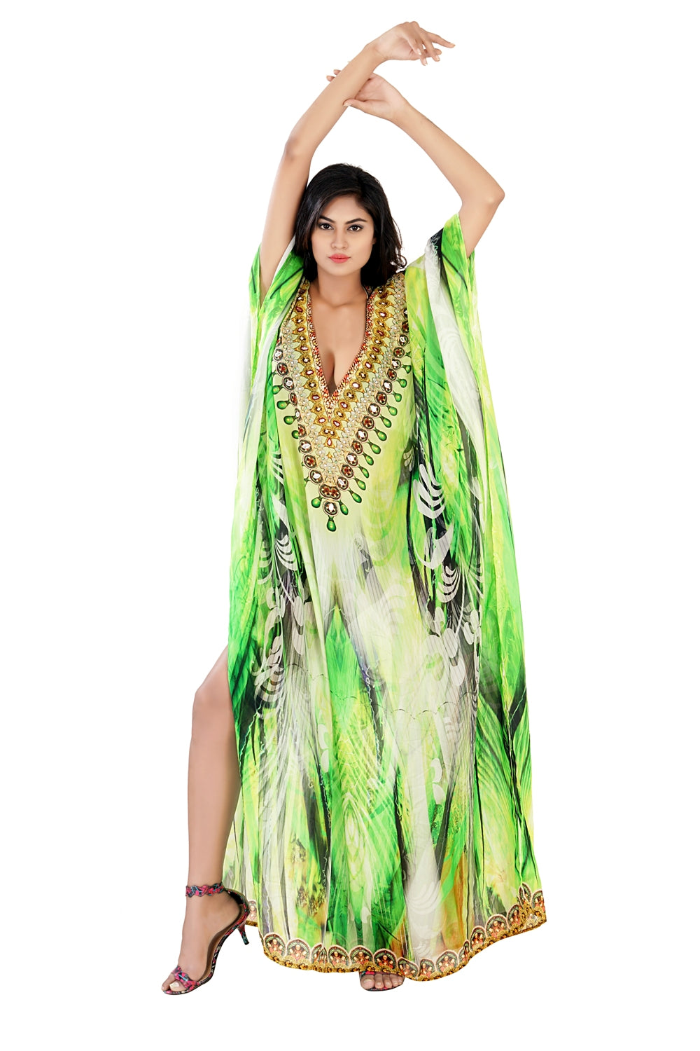 girls kaftan dress