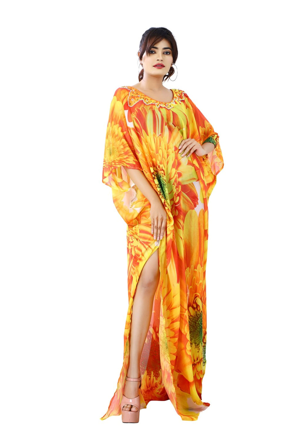 kaftan long dresses