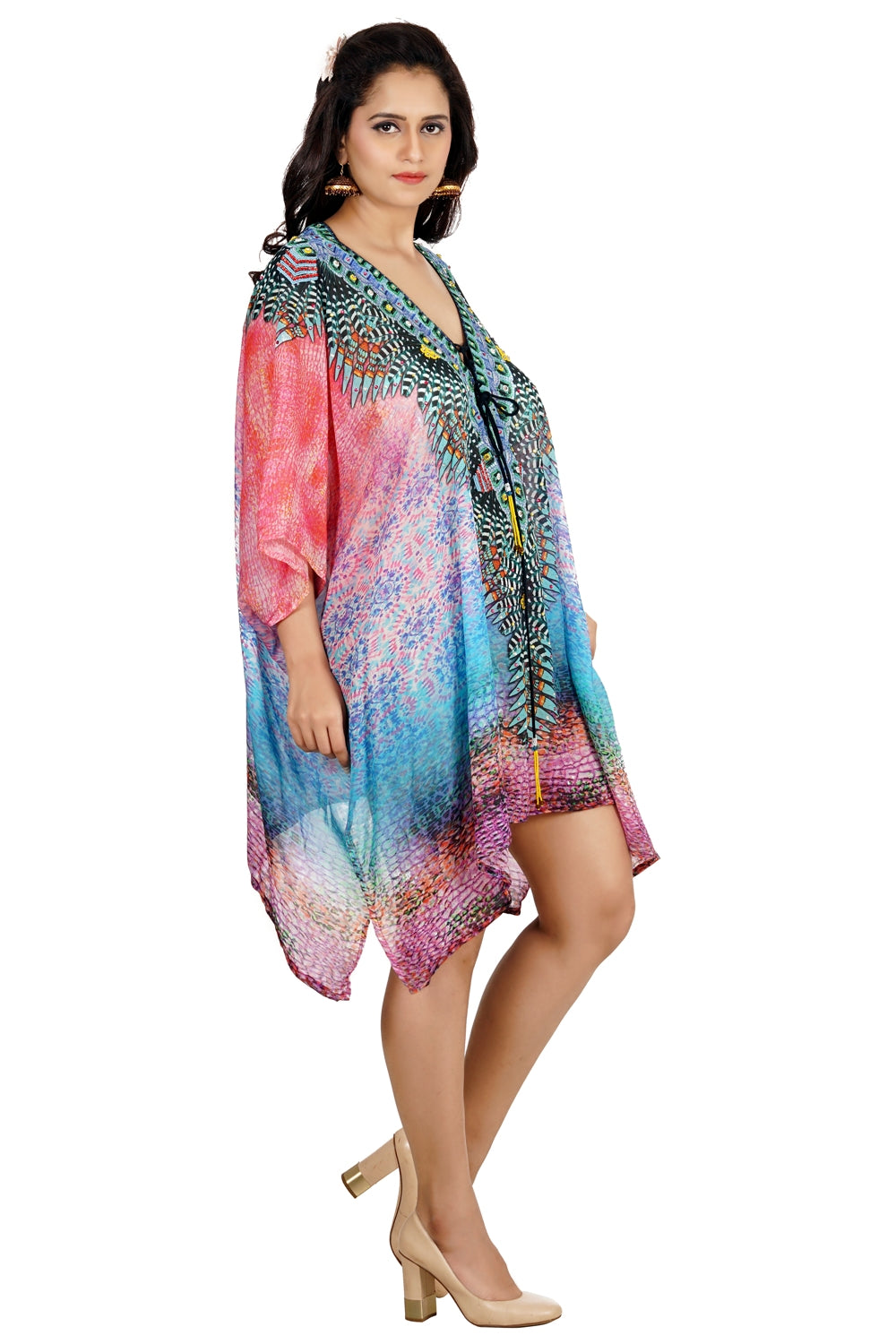 short kaftan for women
