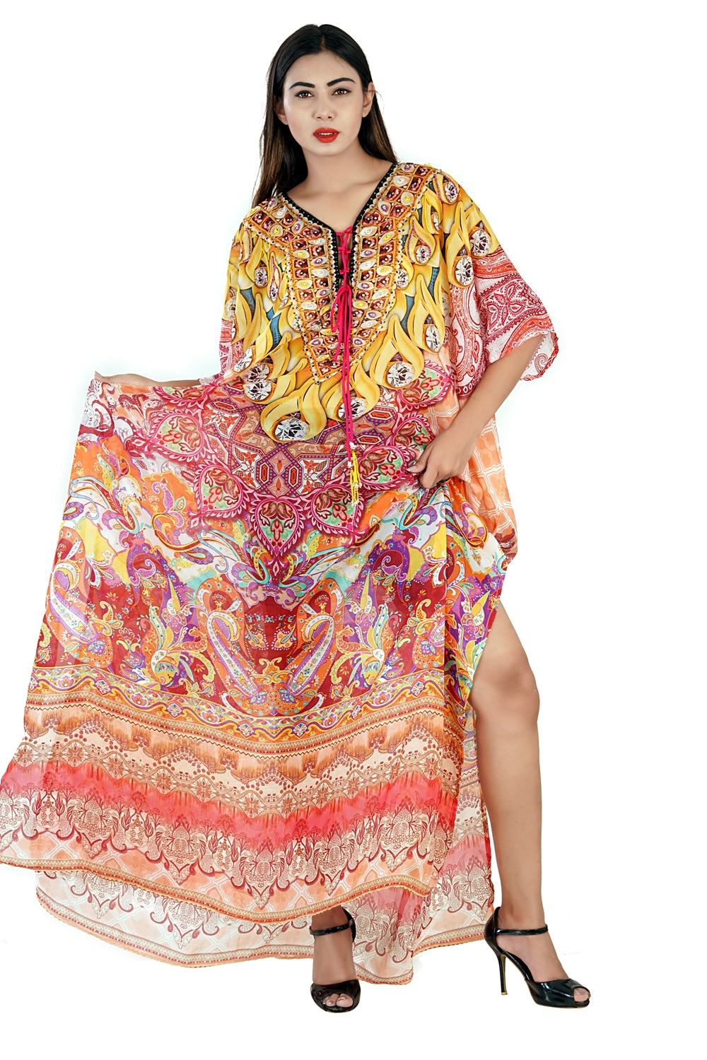 kaftan inspired dresses