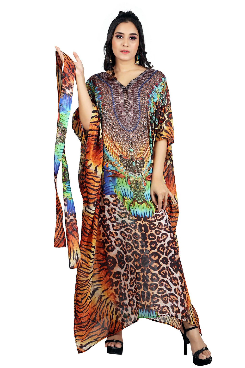 kaftan dresses for women