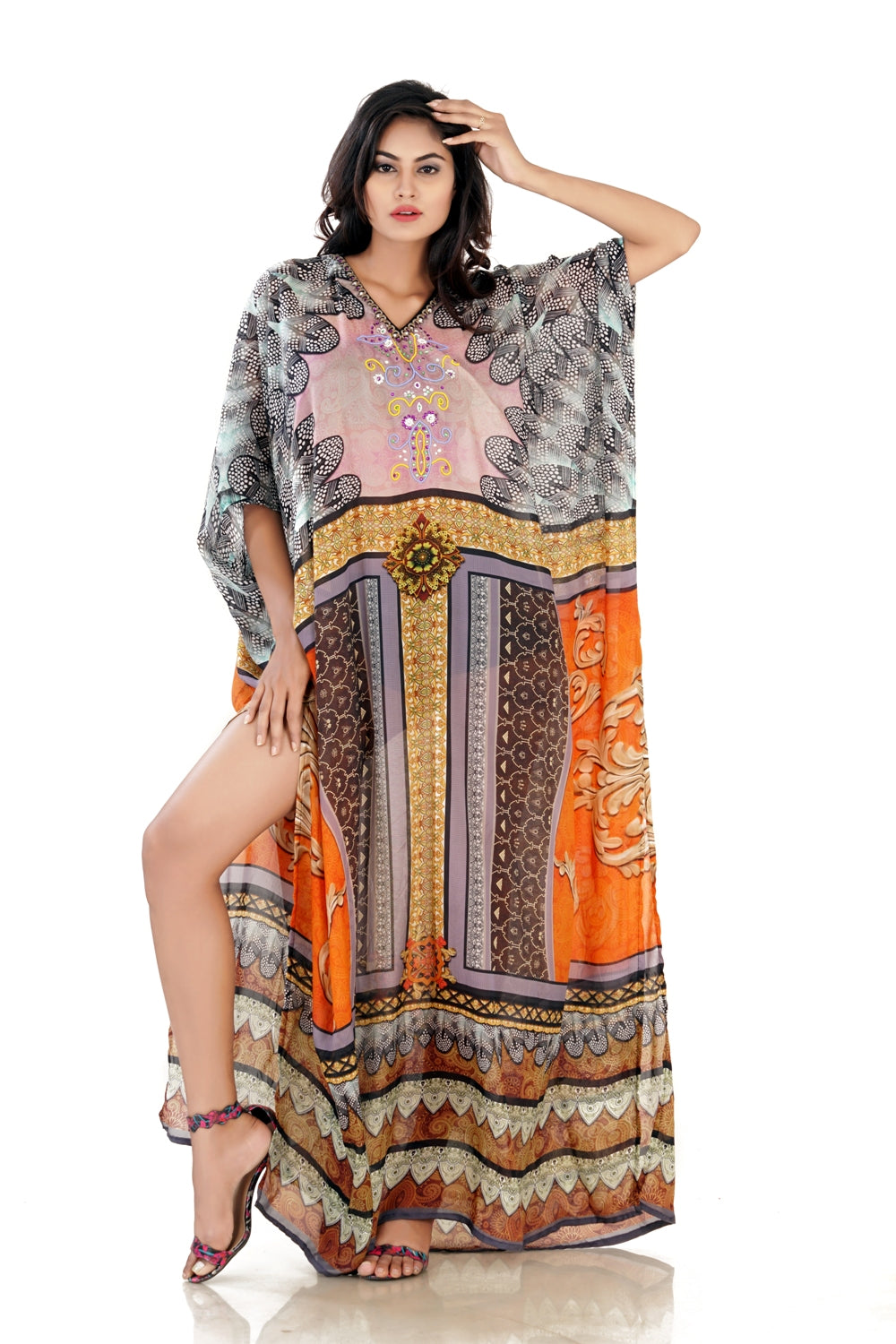 long kaftans for summer