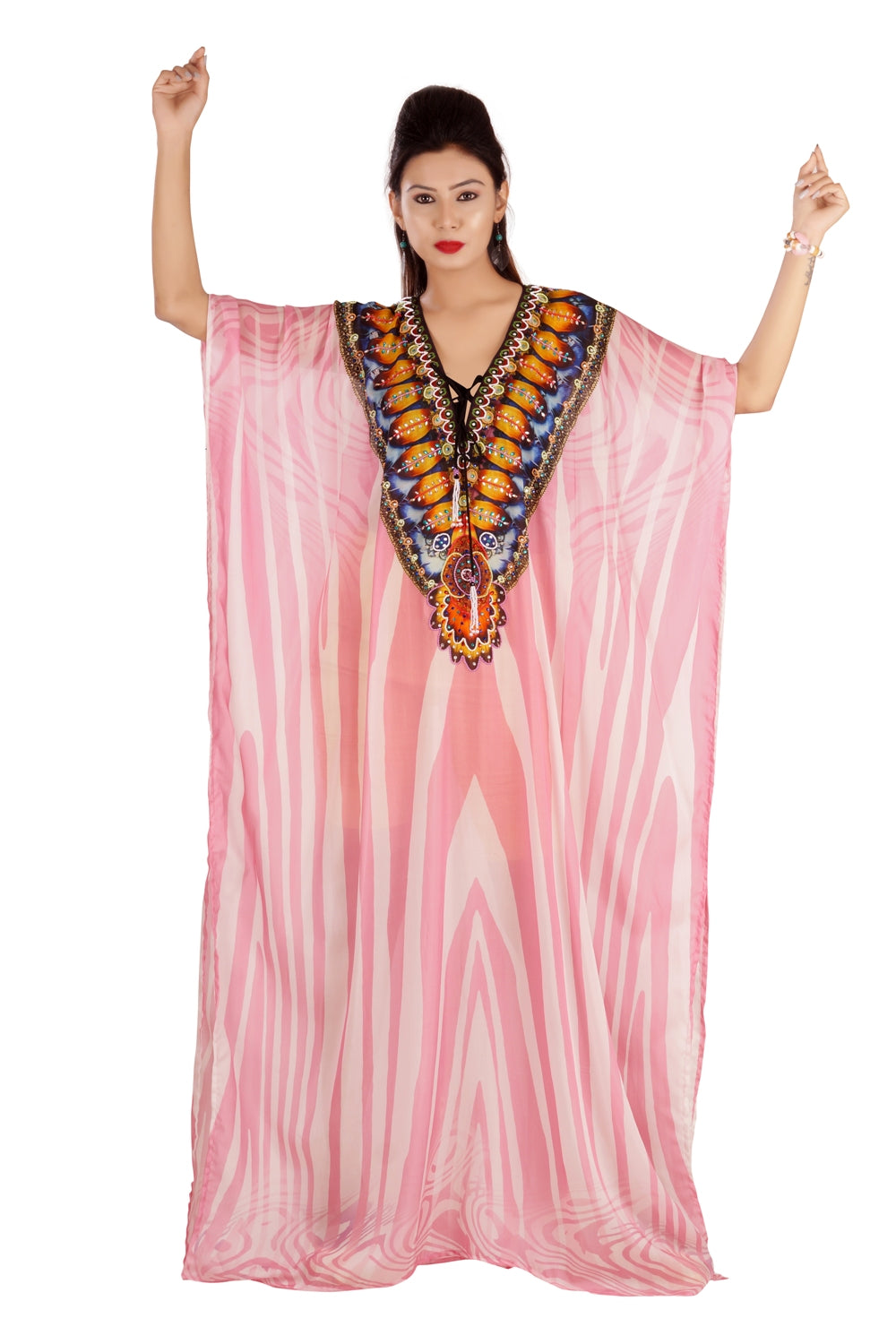 Plus size resort wear silk caftan tunic silk kaftan tops caftan silk beach wear dress lace up katan - Silk kaftan