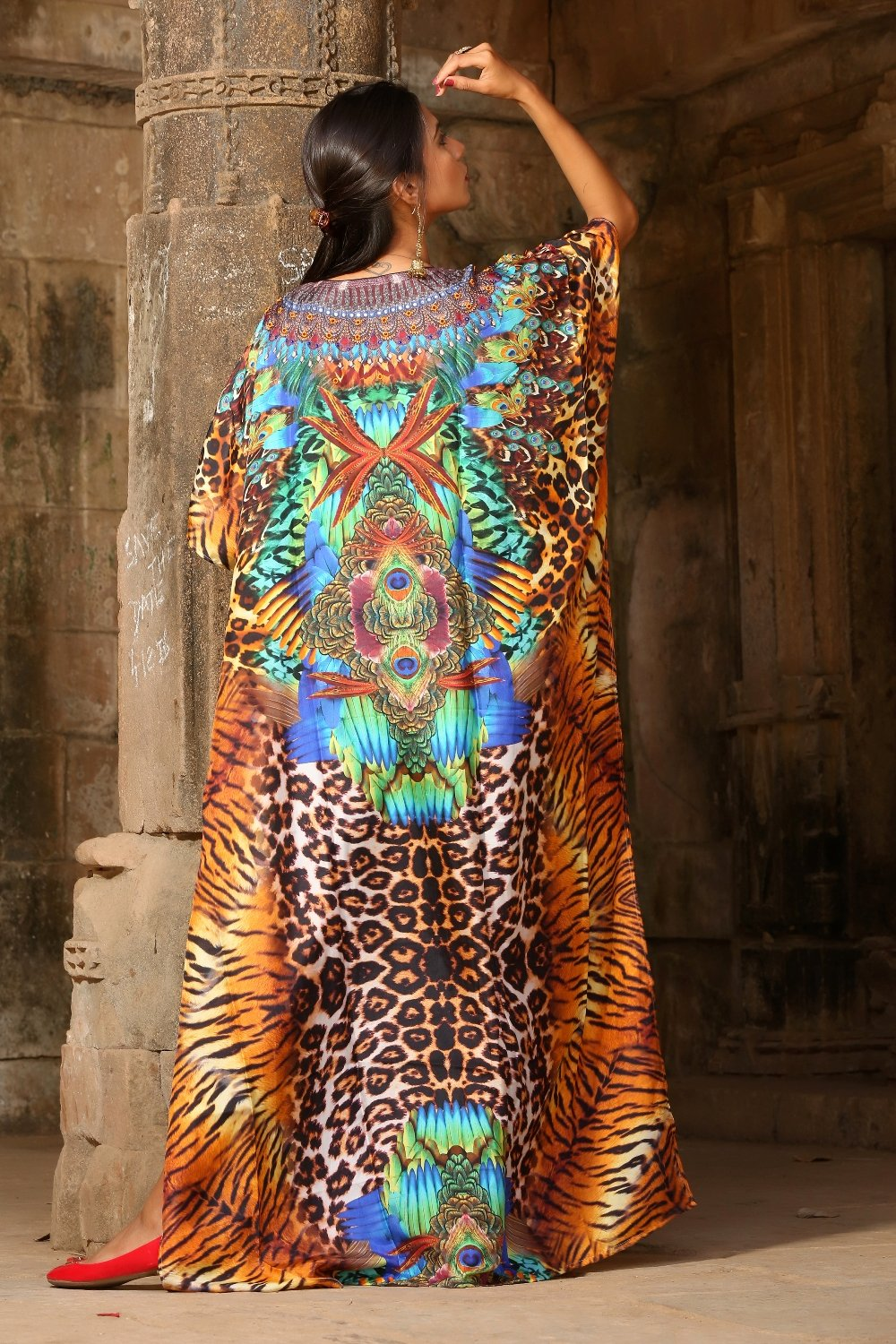 luxury beach kaftans