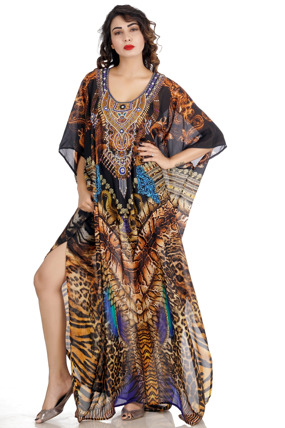 Beach dress kaftan