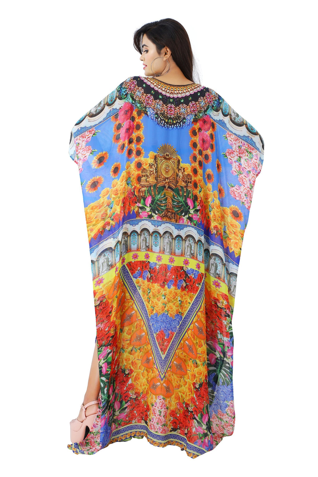 Floral_Print_silk_kaftan.mp4