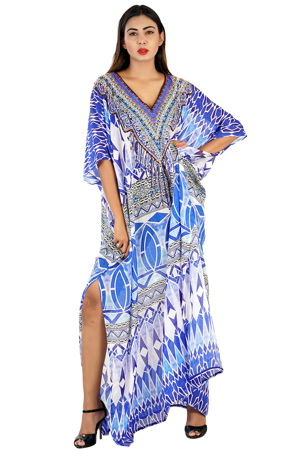 caftan for beach