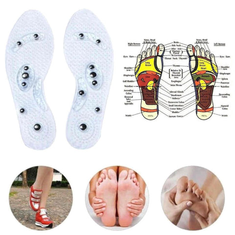 Reflexology Magnetic Insoles - Massaging & Rejuvenating!