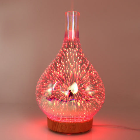 Image of 3D Fireworks LED Humidifier/ Essential Oil Diffuser